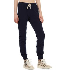theo & spence women's haachi loose-fit joggers - light heather grey - size l