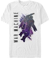 marvel men's avengers infinity war galaxy painted the war machine short sleeve t-shirt