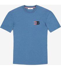 b print t-shirt blue s