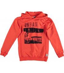 garcia zachte oranje sweater hoodie