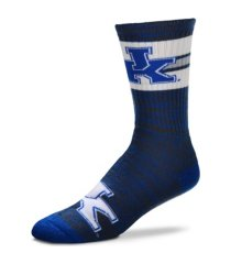 for bare feet kentucky wildcats first string crew socks