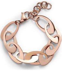 knotty flat disk bracelet in rose gold at nordstrom