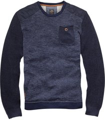 vanguard blauwe sweater
