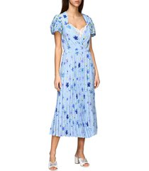 ermanno scervino dress ermanno scervino dress in floral patterned silk