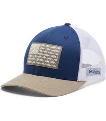 columbia men's pfg mesh snapback fishing hat