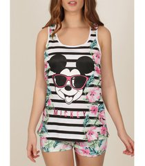 pyjama's / nachthemden admas mickey jungle disney tank top pj's