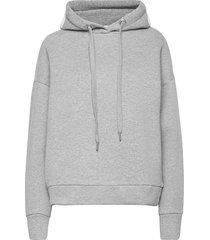 women´s top hoodie trui grijs closed