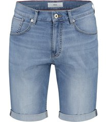 brax shorts denim 5-pocket lichtblauw