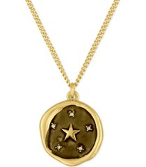 rachel rachel roy gold-tone star pendant necklace