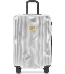 crash baggage designer travel bags, stripe medium trolley