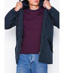 solid stanton jacket jackor blue