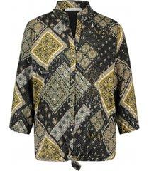 geprinte blouse