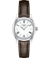reloj tissot para mujer - tradition   t063.009.16.018.00