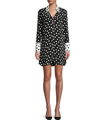 halima polka dot dress