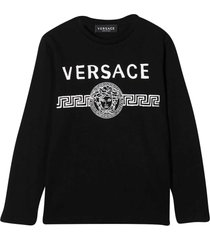 young versace black t-shirt