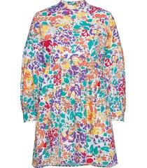 linh short dress korte jurk multi/patroon storm & marie