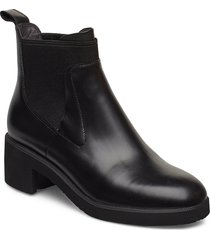 wonder shoes boots ankle boots ankle boots with heel svart camper
