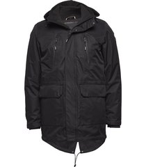 technical jacket parka jas zwart lindbergh