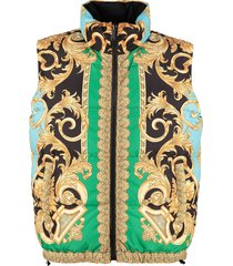 versace body warmer jacket