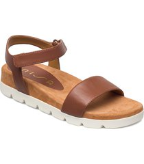 cepeda_ns shoes summer shoes flat sandals brun unisa