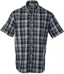 camisa fantasía premium manga corta negro kotting