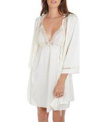 pyjama's / nachthemden selmark uitgekleed majonia wedding ivory
