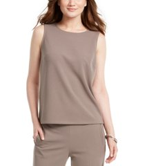 nine west jewel-neck top