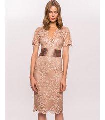 sukienka midi z tiulem