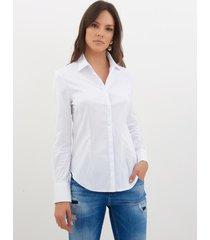 camisa le lis blanc priscila branco feminina (branco, 50)