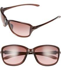 oakley cohort 62mm sunglasses in amethyst/g40 black at nordstrom
