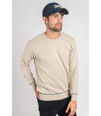 sweater beige oxford polo club roland