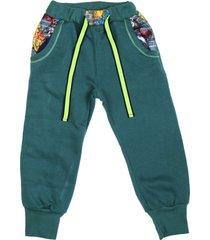 pantalón verde cante pido graff