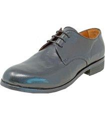 zapato canyon plain toe blucher negro florsheim