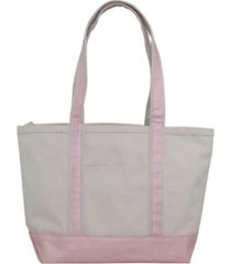 cb station medium boat tote metallic