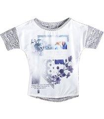 geisha shirt materiaalmix