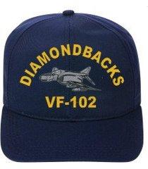 vf-102 diamondbacks  f-4 phantom direct embroidered cap    new