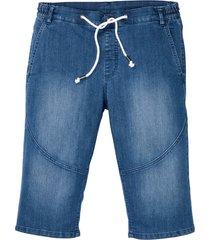 bermuda in jeans lunghi con taglio comfort (blu) - bpc bonprix collection