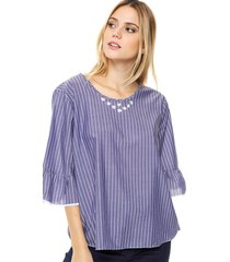 top azul olive lima
