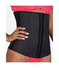cinta feminina modeladora abdominal cotton esbelt