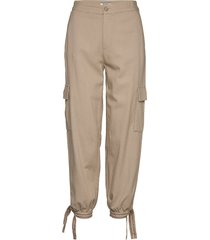 tjw cargo jogger casual broek beige tommy jeans