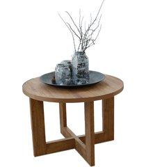 mesa centro 8001 luxo caramelo madeirado móveis jb bechara