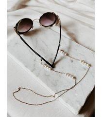 łańcuszek do okularów z perłami
