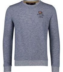 new zealand sweater waitatapia navy gemeleerd