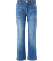 enkellange wide fit-jeans in 5-pocketsmodel van day.like denim