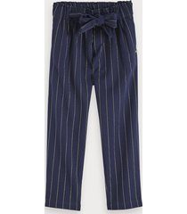 scotch & soda lurex pinstripe pants