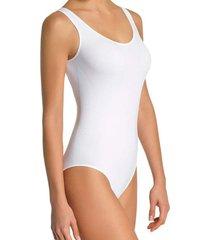 blusa body feminino sem costura loba lupo - branco - feminino - dafiti