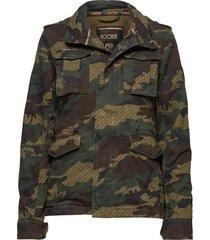 jade rookie 4 pocket jacket sommarjacka tunn jacka multi/mönstrad superdry