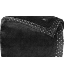 cobertor manta blanket 700 queen preto - kacyumara - preto - dafiti