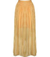 tiffany tiffany silkeskjol gul, 16220