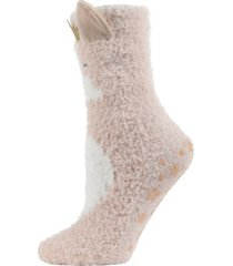 princess critter plush women's crew socks